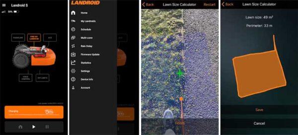 aplicación worx landroid