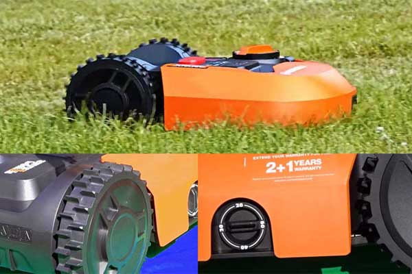 robot cortacesped worx wr130e