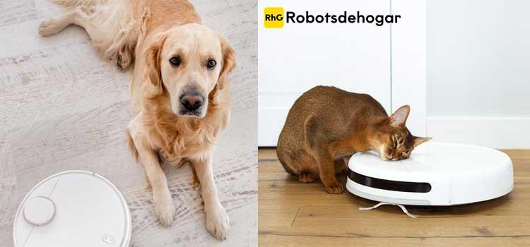 mejores robot aspirador mascotas